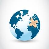 Läka världen Arkivfoto