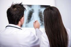 läkarundersökning Fotografering för Bildbyråer
