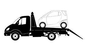 lkw卡车 向量例证
