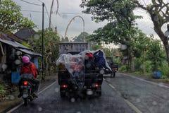 LKW in Bali stockfotos