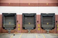 LKW-Dock Stockbild