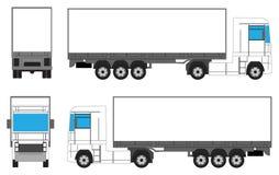 LKW für das Einbrennen vektor abbildung