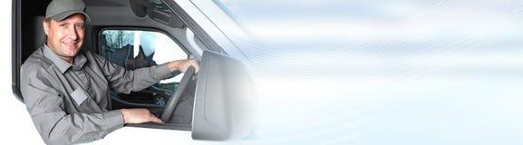LKW-Fahrer stockbilder