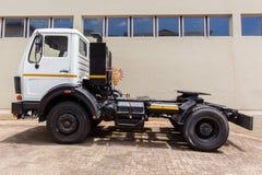 LKW-Fahrzeug-Pferd Stockfoto