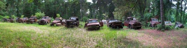 LKW-Friedhof - Wakulla Florida Stockbild