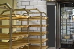 LKW-Gestellbolzen mit Brotkörben Lizenzfreie Stockfotografie