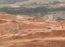 LKW im Bergbau Stockfoto