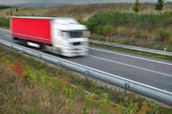 Lkw lorry transport Royalty Free Stock Photography