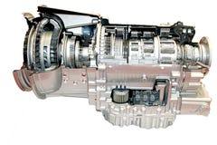 LKW-Motor Stockfoto