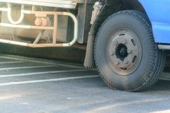 LKW-Radtransport Lizenzfreies Stockbild