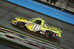 LKW-Reihe NASCAR kampierende Welt Stockfotos