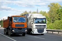 LKW-Transport Stockbild