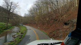 LKW-Transport, West Virginia Lizenzfreies Stockbild