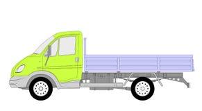 Lkw truck vector Stock Image