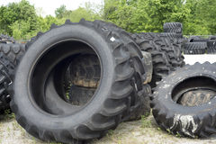 LKW-und Bauernhof-Reifen Lizenzfreies Stockbild