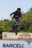 LKXA BARCELONA EXTREMA - BMX Fotos de archivo libres de regalías