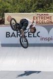 LKXA BARCELONA EXTREMA - BMX Fotografía de archivo libre de regalías