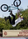 LKXA BARCELONA EXTREMA - BMX Foto de archivo libre de regalías