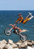 LKXA EXTREME BARCELONA - FMX Royalty Free Stock Photography