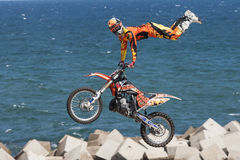 LKXA EXTREME BARCELONA - FMX Royalty Free Stock Images