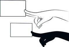 ¡Llámeme! ilustración del vector