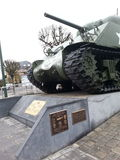 Ll Bastogne da guerra mundial fotografia de stock