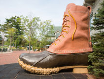 LL Bean boot royalty free stock photography