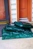 LL Bean Packages Delivered stock photography