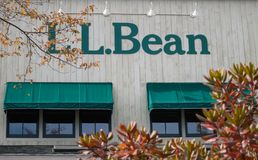 LL Bean Store royalty free stock image