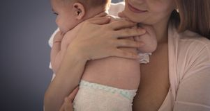 He`ll always come first in her life royalty free stock photography