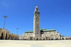 Ll de Hassan da mesquita em Casablanca, Marrocos Foto de Stock Royalty Free