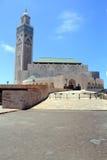 Ll de Hassan de la mezquita en Casablanca, Marruecos Fotos de archivo libres de regalías