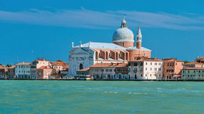ll Redentore在威尼斯 库存照片