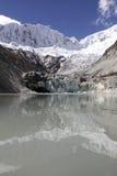 Llaca lagoon Andes Huaraz Peru Royalty Free Stock Photography