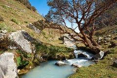 Llaca valley Stock Image