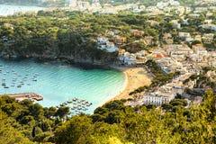 Llafranc, Costa Brava, Espagne Photos stock