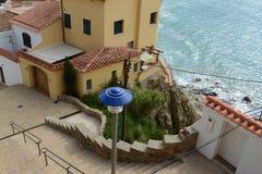 Llafranc. Costa Brava, Spain, view of a street Royalty Free Stock Image