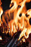 Llama ardiente del fuego Fotos de archivo