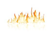 Llama ardiente del fuego ilustración del vector