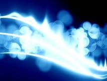 Llama azul del gas libre illustration