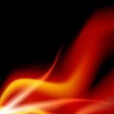 Llama de la energía del plasma stock de ilustración