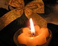 Llama de la vela Fotos de archivo libres de regalías