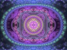 Llama del fractal Fotografía de archivo