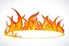 Llama del fuego Fotos de archivo