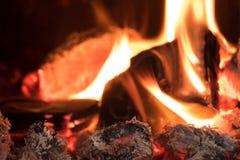 Llama del fuego fotografía de archivo libre de regalías