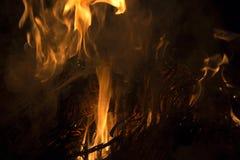 Llama del fuego Imagenes de archivo