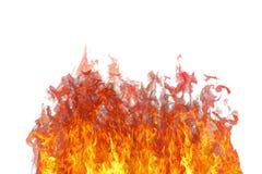 Llama del fuego con humo. libre illustration
