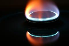 Llama del gas Fotografía de archivo
