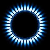 Llama del gas stock de ilustración