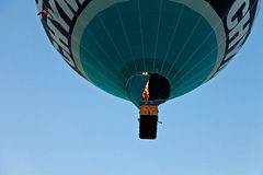 Llama del globo encendido Fotografía de archivo